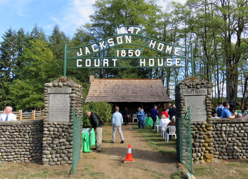 Newly restored Jackson House State Park Heritage Site is south of Chehalis about 2.5 miles east of Interstate 5.
