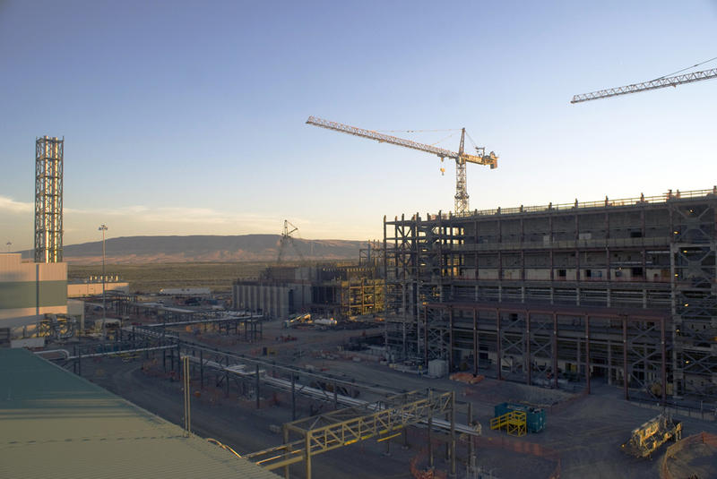 File photo. Construction of the Hanford Tank Waste Treatment and Immobilization Plant is behind schedule and over budget.