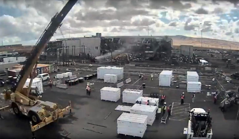 The demolition of the Plutonium Finishing Plant at Hanford is now about a yearpast its deadline.