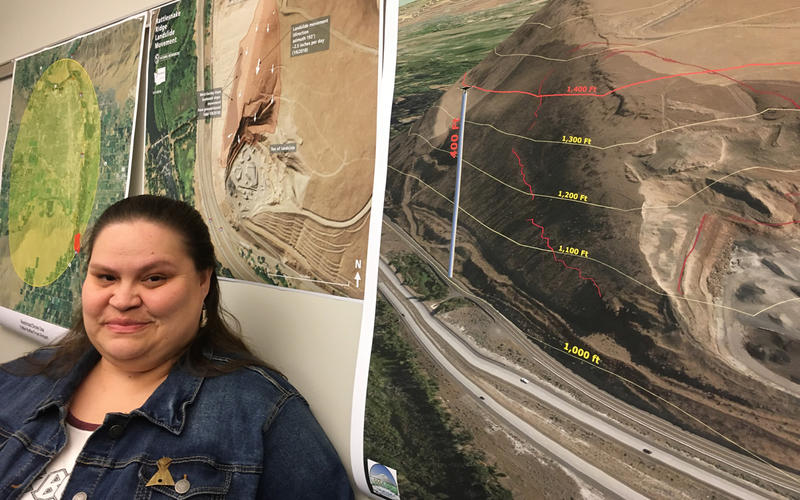 Elizabeth Sanchey is the incident commander in charge of the Rattlesnake Ridge landslide for the Yakama Nation. She says tribes have a lot to lose if the slope comes down.
