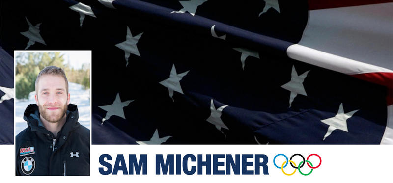 USA Bobsled & Skeleton announced the 2018 U.S. Olympic Men's Bobsled Team to compete in PyeongChang, South Korea for the upcoming Olympic Winter Games. Gresham, Oregon, native Sam Michener made the cut.