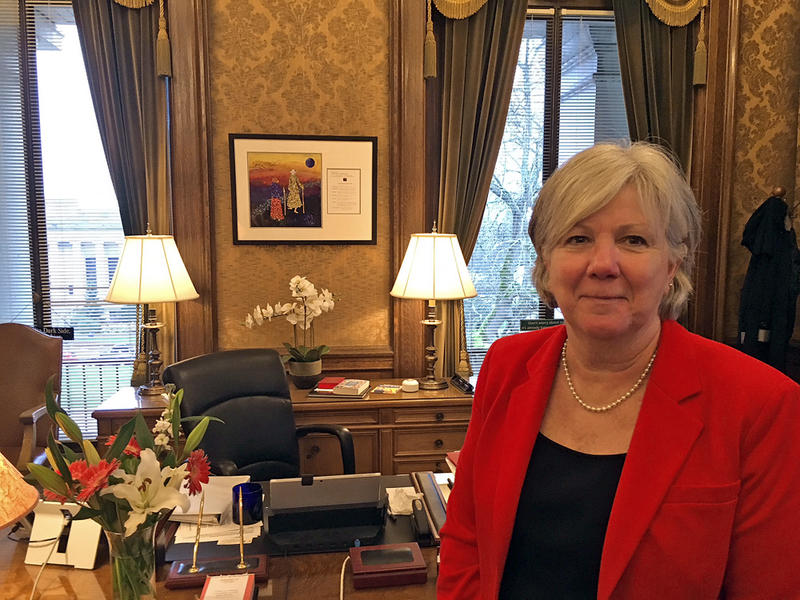 Senate Majority Leader Sharon Nelson says a resolution to create a joint House and Senate task force on sexual harassment didn't pass the Senate after staff expressed concern they wouldn't have an adequate voice on the task force.