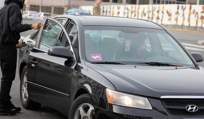 File photo. A proposal in the Washington Legislature would require drivers for companies like Uber and Lyft to pass a fingerprint background check before being allowed to operate.