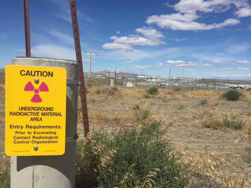 The Plutonium Finishing Plant at the Hanford nuclear reservation in Southeast Washington.