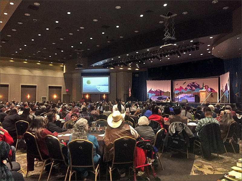 The the three-day Celebrating Salish Conference in Spokane has drawn hundreds of teachers and students of the Salish language.