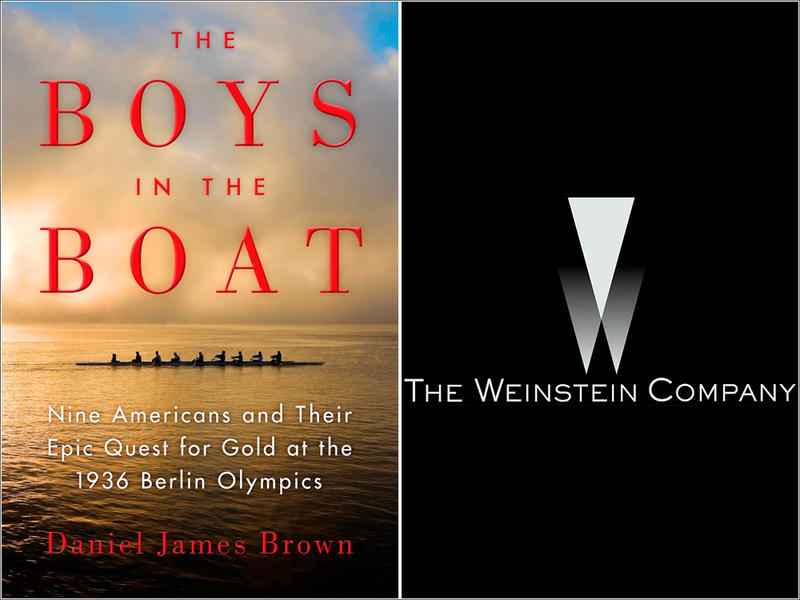 Author Daniel James Brown sold the movie rights to his nonfiction bestseller ''The Boys in the Boat'' to producer Harvey Weinstein about seven years ago.