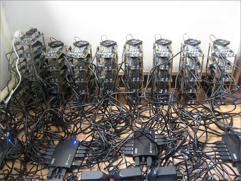 File photo. Chelan County Public Utility District managers want to shut down unauthorized bitcoin operations.