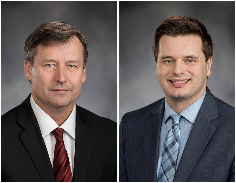 Despite ongoing investigations into their conduct, Republican Matt Manweller of Ellensburg, left, and Democrat David Sawyer of Tacoma have filed to run for re-election to the Washington House.