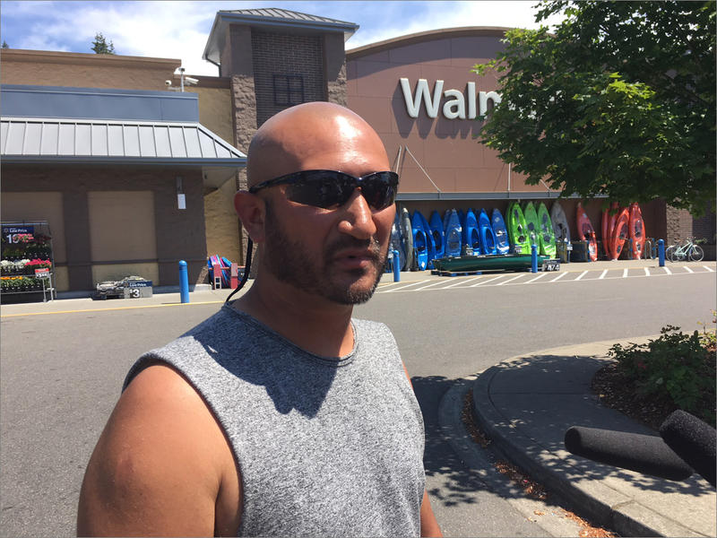 Jesse Zamora was one of two armed citizens who acted to try to stop a gunman who opened fire at a Walmart in Tumwater, Washington, on Father's Day.
