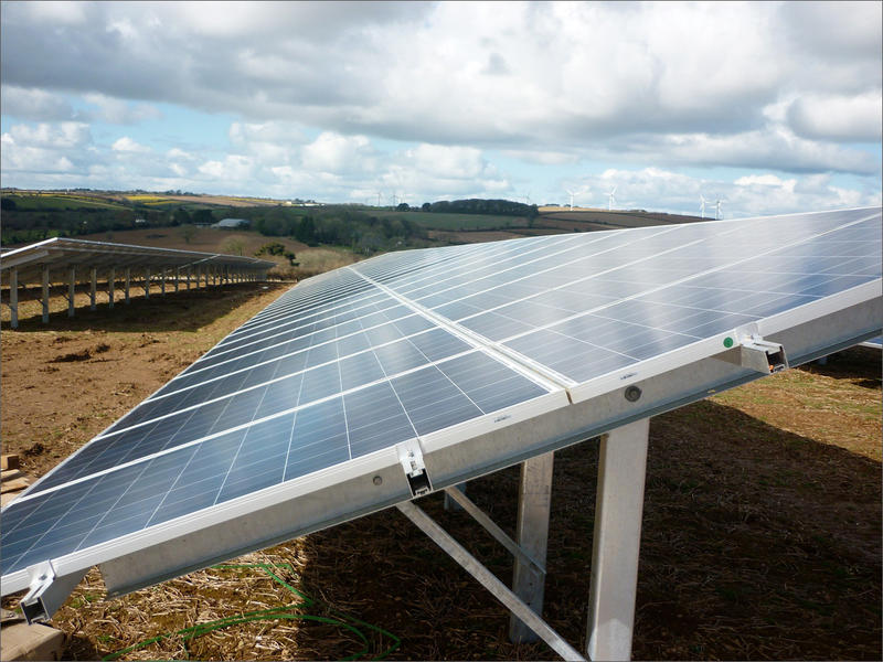 File photo. Developers are showing interest in converting public grazing lands in central Washington into large solar farms.