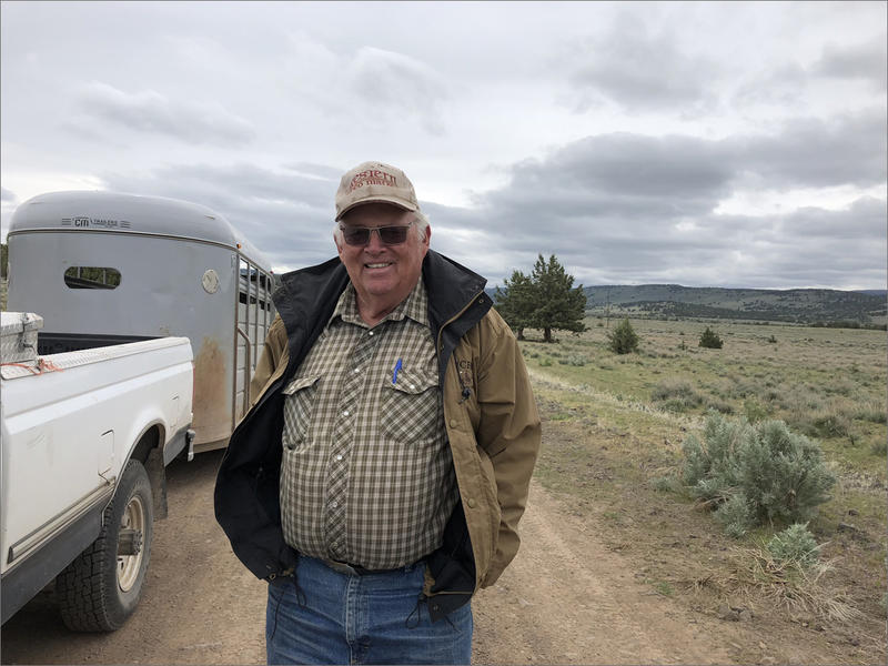 Rancher Buck Taylor supports President Trump even though he knows the trade wars might pinch a bit on his beef prices.