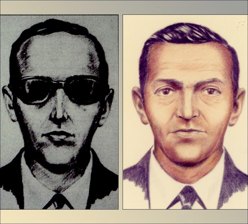 D.B. Cooper in FBI composite sketches.