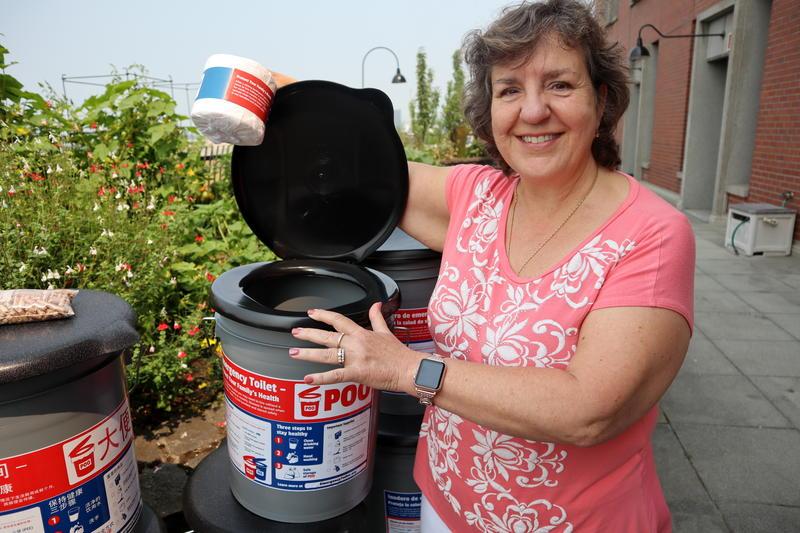 Sue Mohnkern of Washington County Public Health (Oregon) spearheaded the Emergency Toilet Project.
