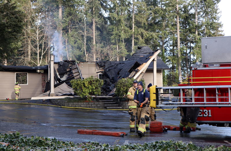 A highly suspicious early morning fire on December 7, 2018 destroyed the Kingdom Hall of Jehovah's Witnesses in Lacey, Washington.