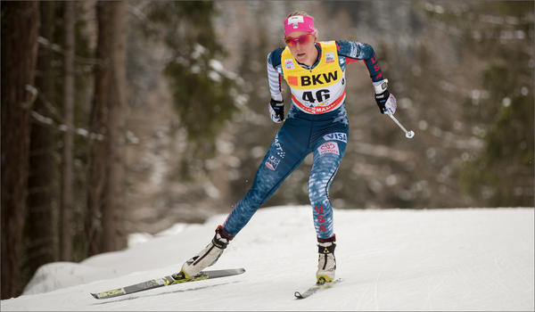 Sadie Bjornsen expects to compete in the classic sprint and the 10K freestyle at the 2018 Winter Games in PyeongChang, South Korea, plus several relay or team events. CREDIT: REESE BROWN