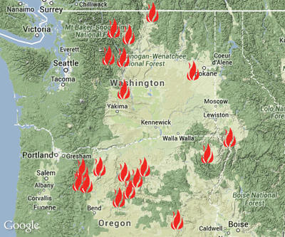 Inslee Says Feds Will Help Restore Power In Fire Zone Nw News Network