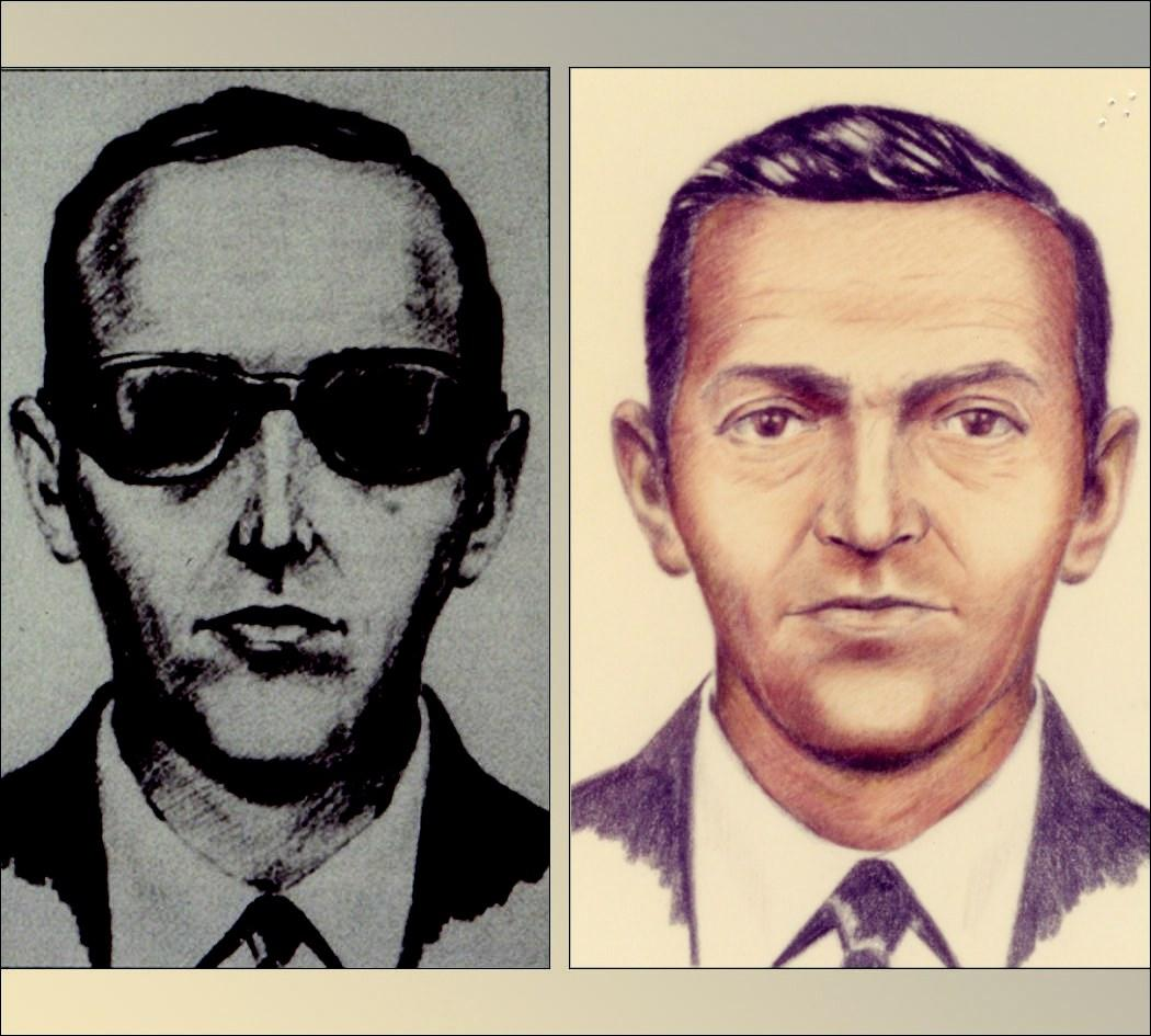 Image result for db cooper sketch