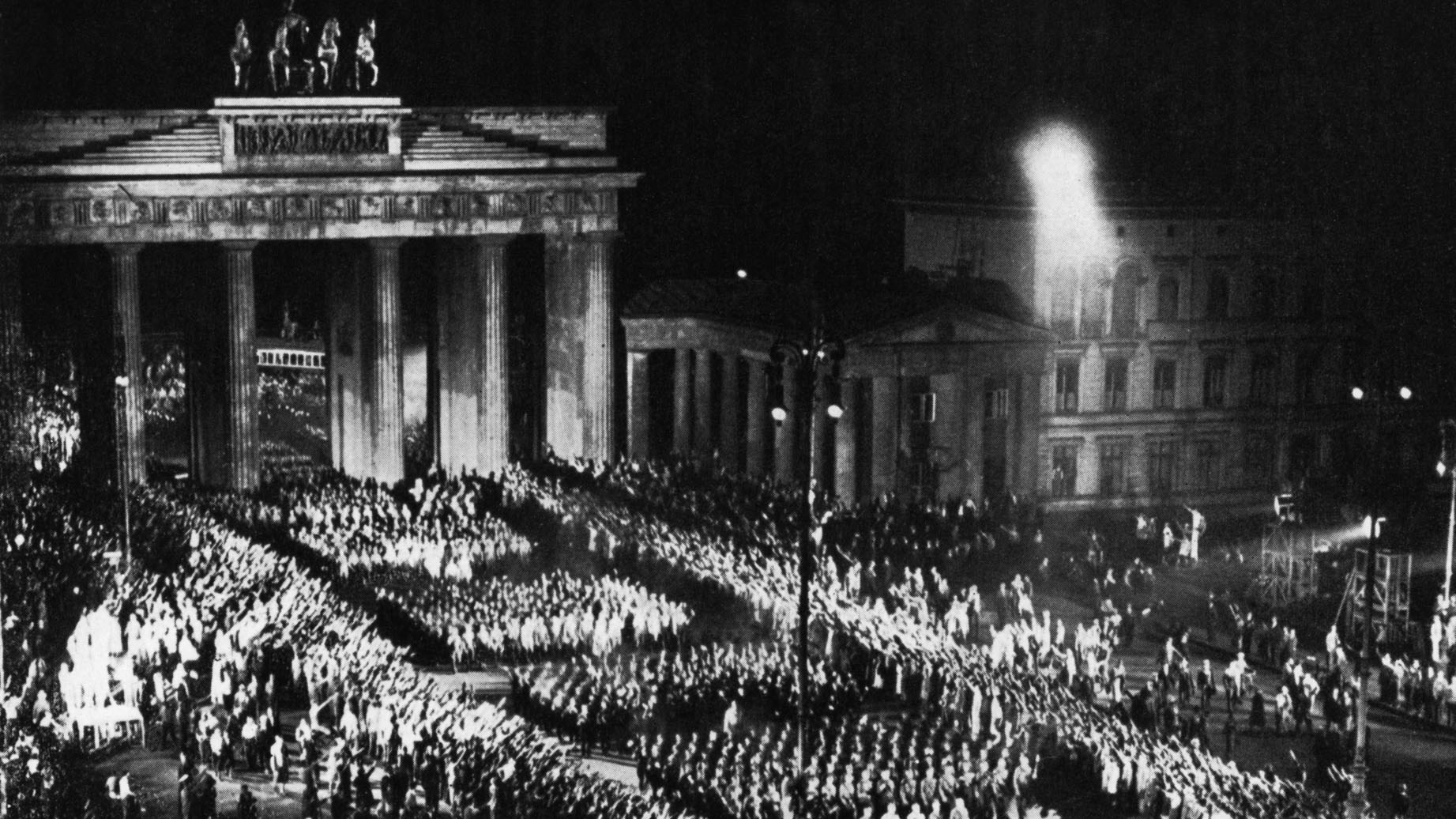 nazi rule held a tight grip in germany from 1933 1939