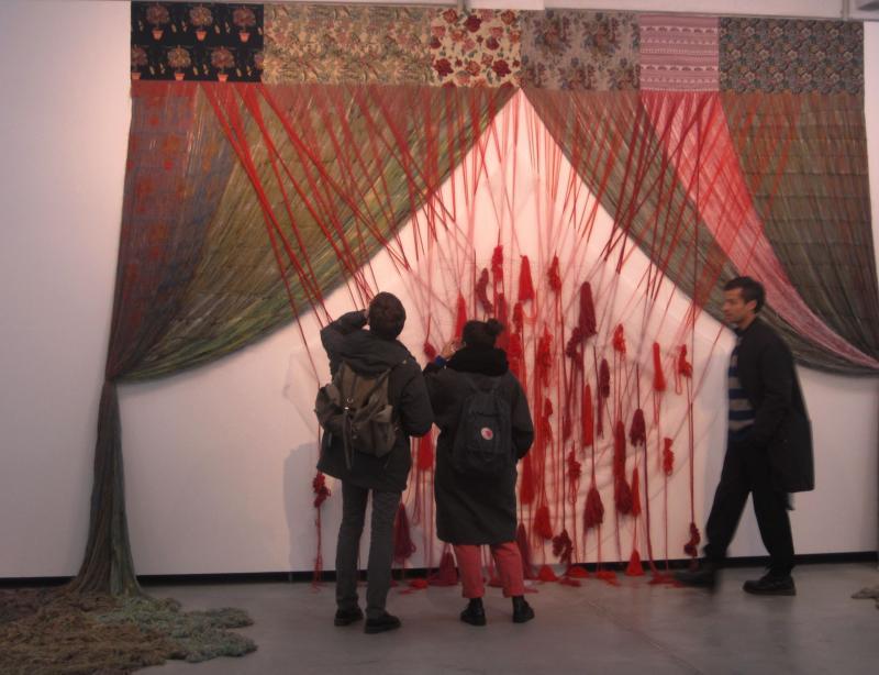 Japanese artist Aiko Tezuka spent time in London before joining the artist-in-residence program at Künstlerhaus Bethanien.