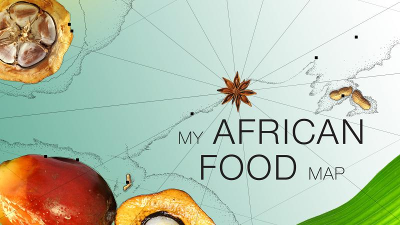 My African Food Map