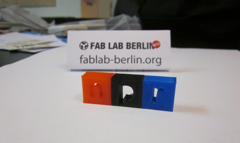 NPR Berlin contributor Jörg Bennet Wimalasena visited FabLab Berlin, a small manufacturing facilitiy in Mitte that provides modern, computer operated, small-scale manufacturing tools like 3-D printers.