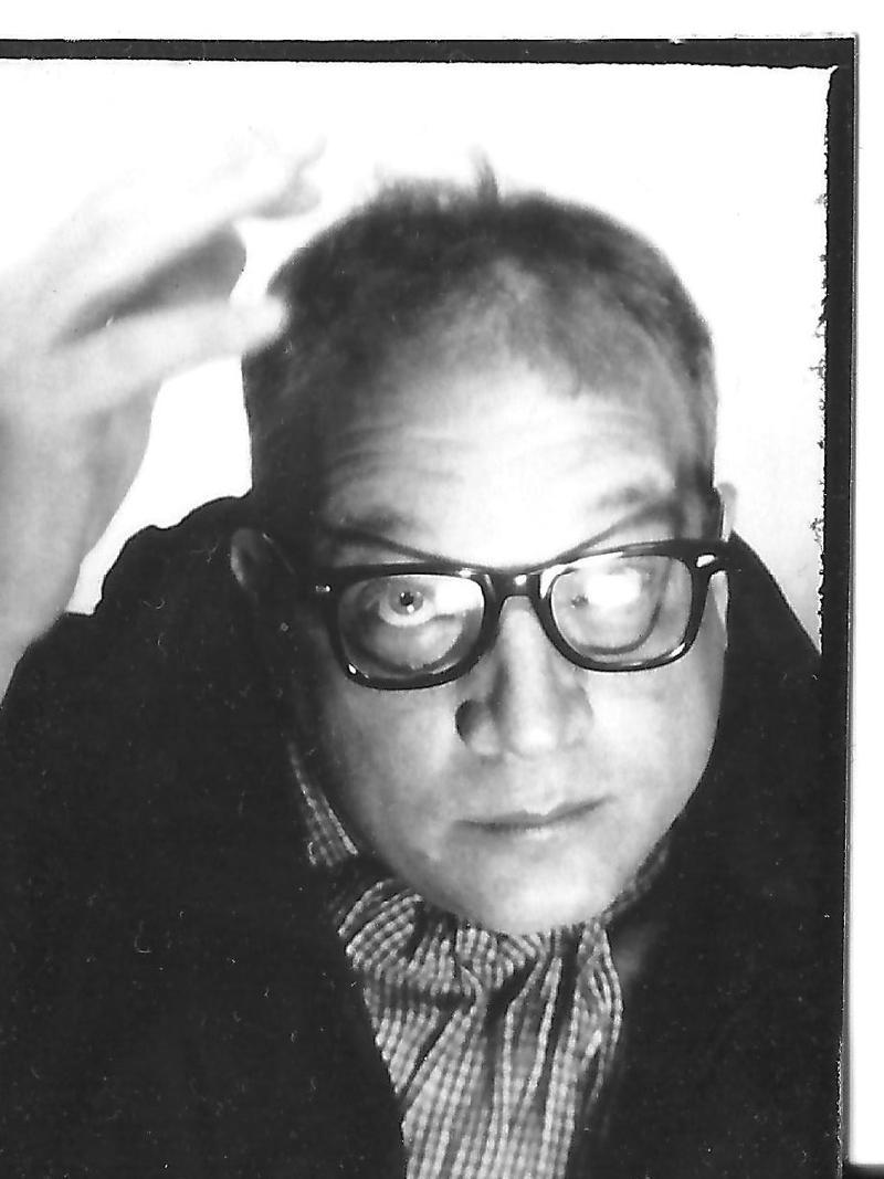 """Tilman Baumgärtel, author of the book, """"Schliefen. Zur Geschichte und Ästhetik des Loops""""  and a professor at Hochschole Mainz."""