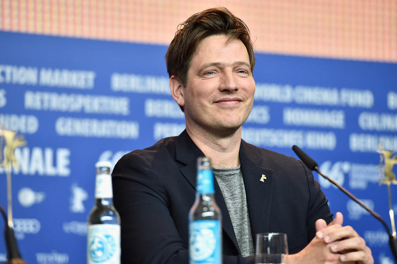 "Director Thomas Vinterberg attends the ""The Commune"" (Kollektivet) press conference during the 66th Berlinale International Film Festival Berlin."