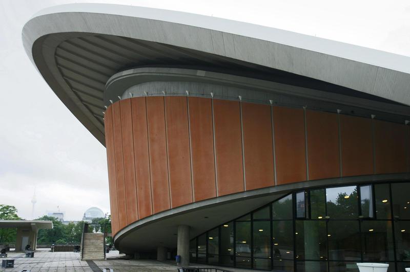 A photo of Haus der Kulturen der Welt (House of World Cultures) in Berlin, Germany.