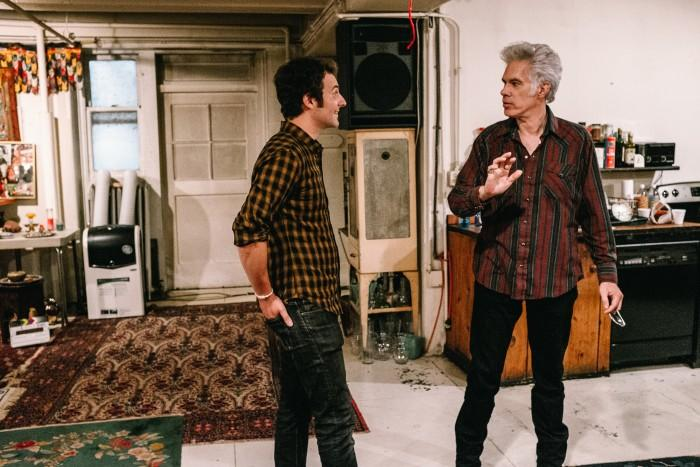 "A still of Aaron Brookner and Jim Jarmusch from ""Uncle Howard"" Panorama."