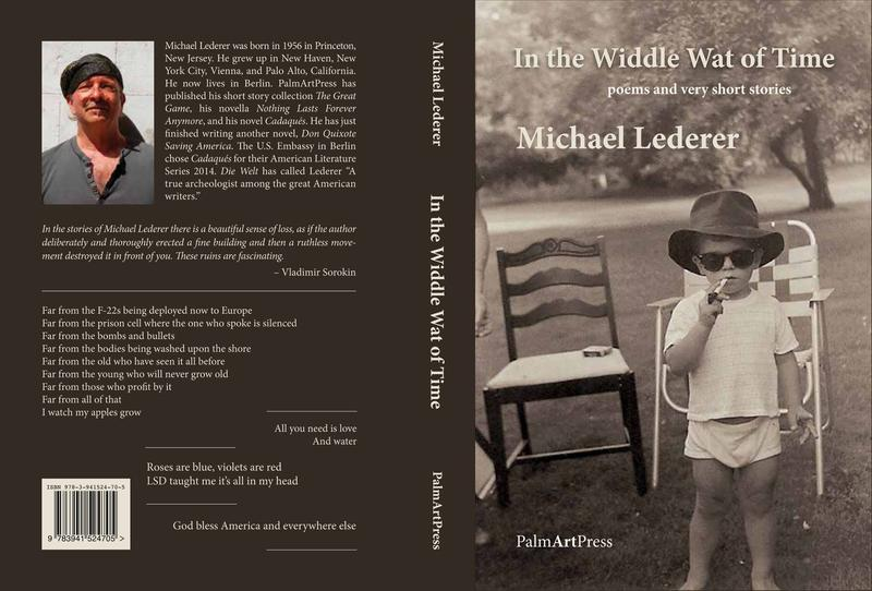 "The cover of Michael Lederer's newest book, ""In the Widdle Wat of Time,"" which was published earlier this month."