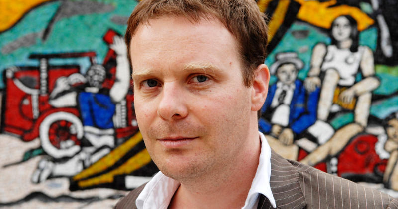 """A photo of Tom McCarthy, the author of """"Satin Island."""""""