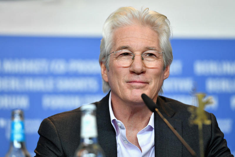 Richard Gere attends the 'The Dinner' press conference during the 67th Berlinale International Film Festival Berlin at Grand Hyatt Hotel on February 10, 2017 in Berlin, Germany.