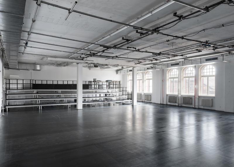 Hochzeitssaal at Sophiensaele, where Kunst Werke Weekends will be taking place.