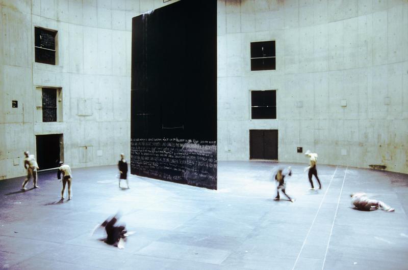 A scene from choreographer Sasha Waltz' Körper.