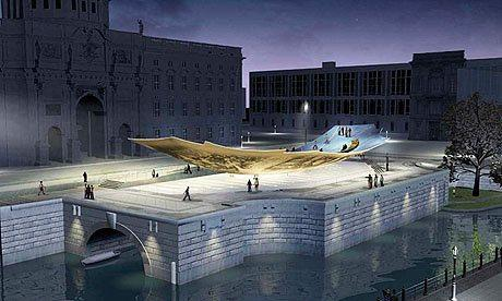 A proof of concept for the Monument to Freedom and Unity.