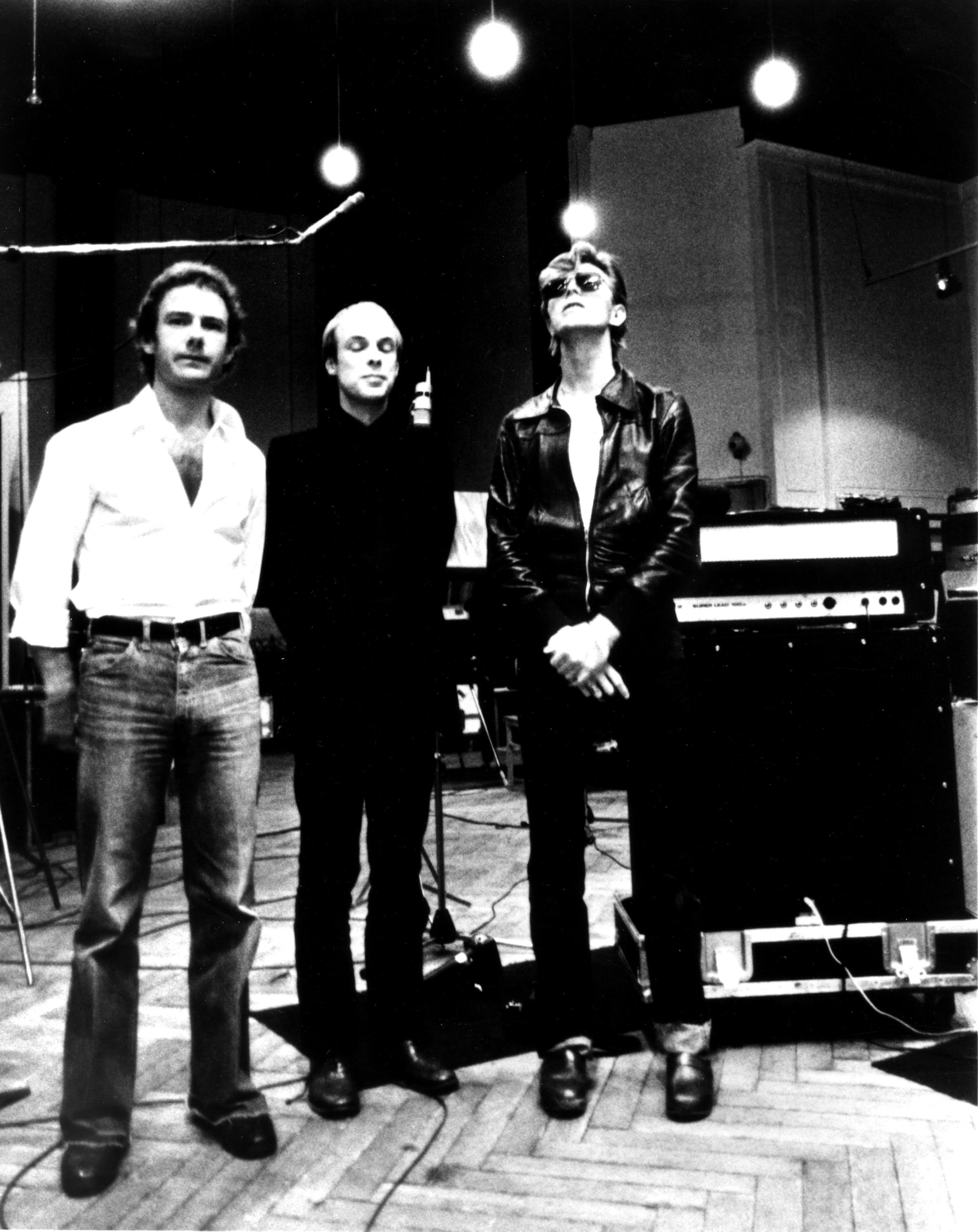 Fripp/ Eno/ Bowie/ Studio Hansa/ Berlin/ 1977/
