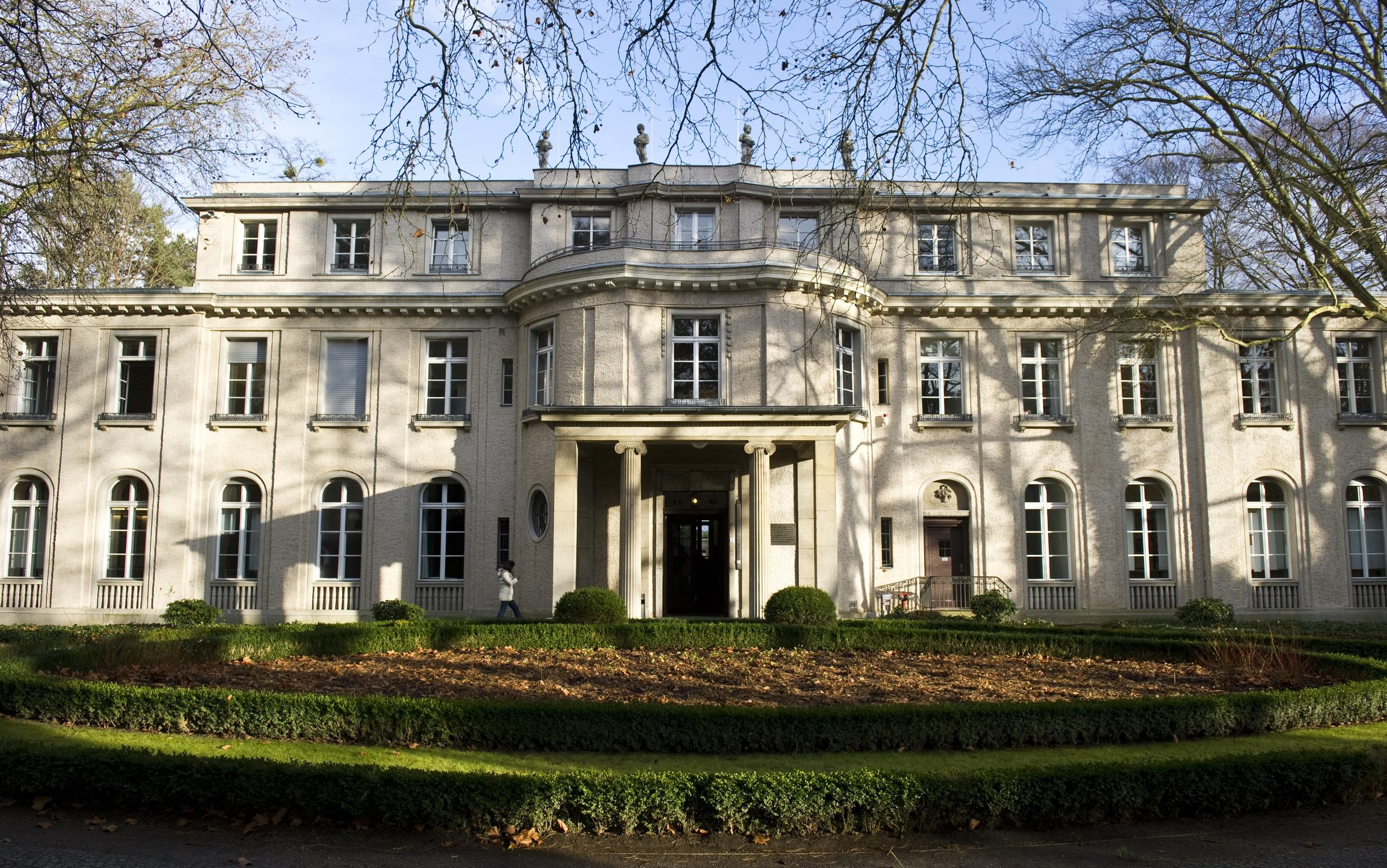 The wannsee house in berlin where the wannsee conference took place in 1942