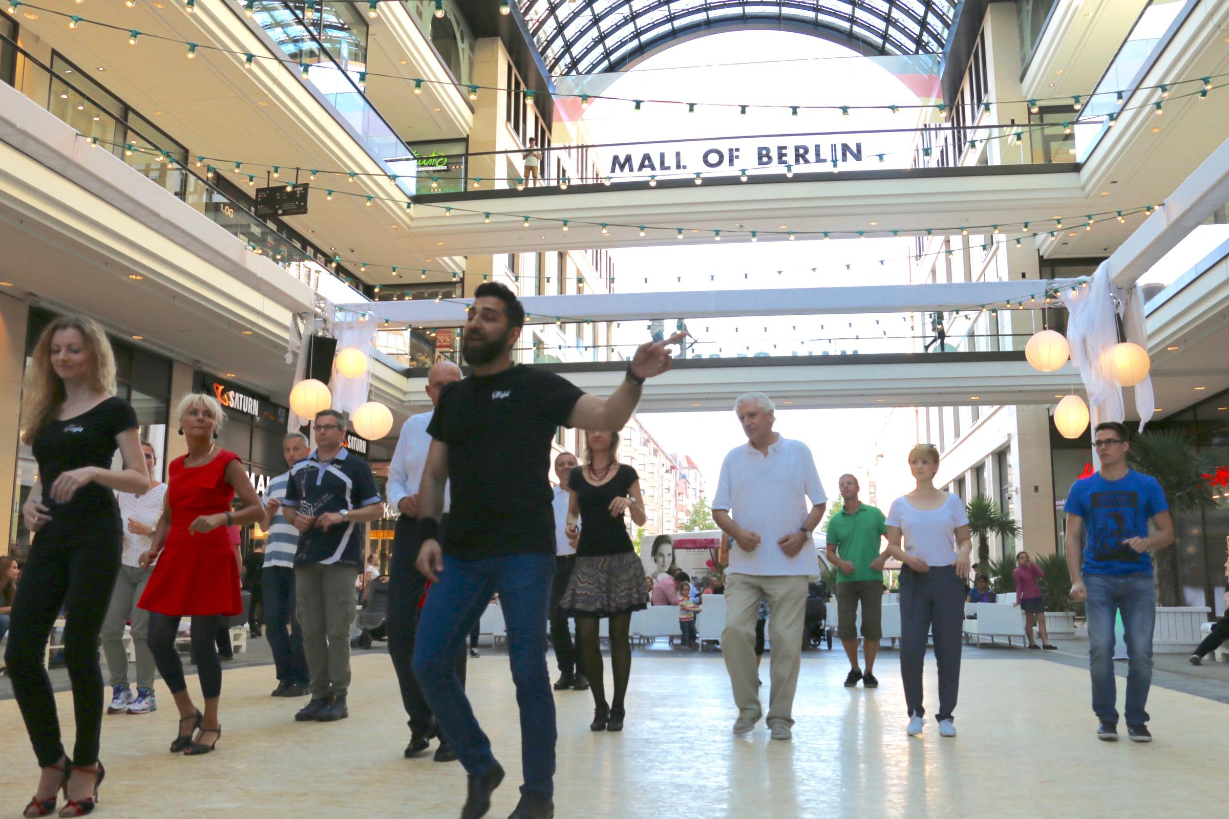 Life In Berlin Shop And Dance At The Mall Of Berlin NPR Berlin - Mall of berlin map