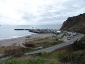 Photo of Port Orford, Oregon.