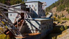 The Yankee Fork Dredge is now a museum that thousands of visitors walk through each year.