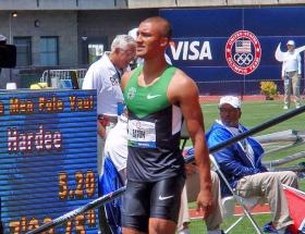 Olympic Decathlon gold medalist and world record holder Ashton Eaton.