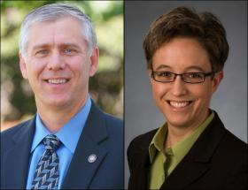 Republican Bruce Hanna had a share of the gavel but Democrat Tina Kotek will likely take over as Oregon House speaker.