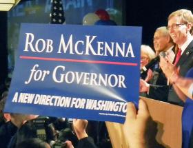 Republican Rob McKenna needs to gain a significant advantage among voters who waited to cast their ballots.