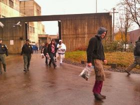 More inmates were let go early from the Lane County Jail Thursday.