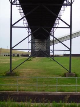Photo of a coal conveyor.