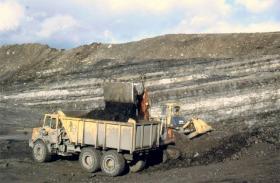 Photo of a coal mine.