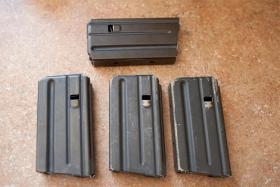 20-round aluminum AR-15 magazines
