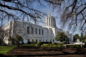 The bill to give Nike a tax freeze guarantee passed both Oregon chambers Friday afternoon.