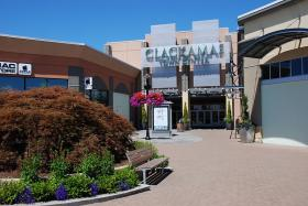 The Clackamas Town Center, site of a shooting Tuesday.