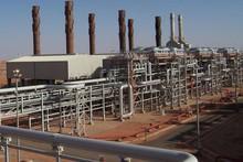 The In Amenas gas facility in Algeria.